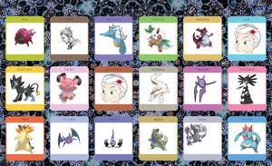 Favourite pokemon of each type Meme