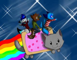 Nyan Cat by MisterBobIsMe