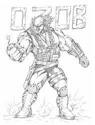 Super Ozob by marconi-desenhos