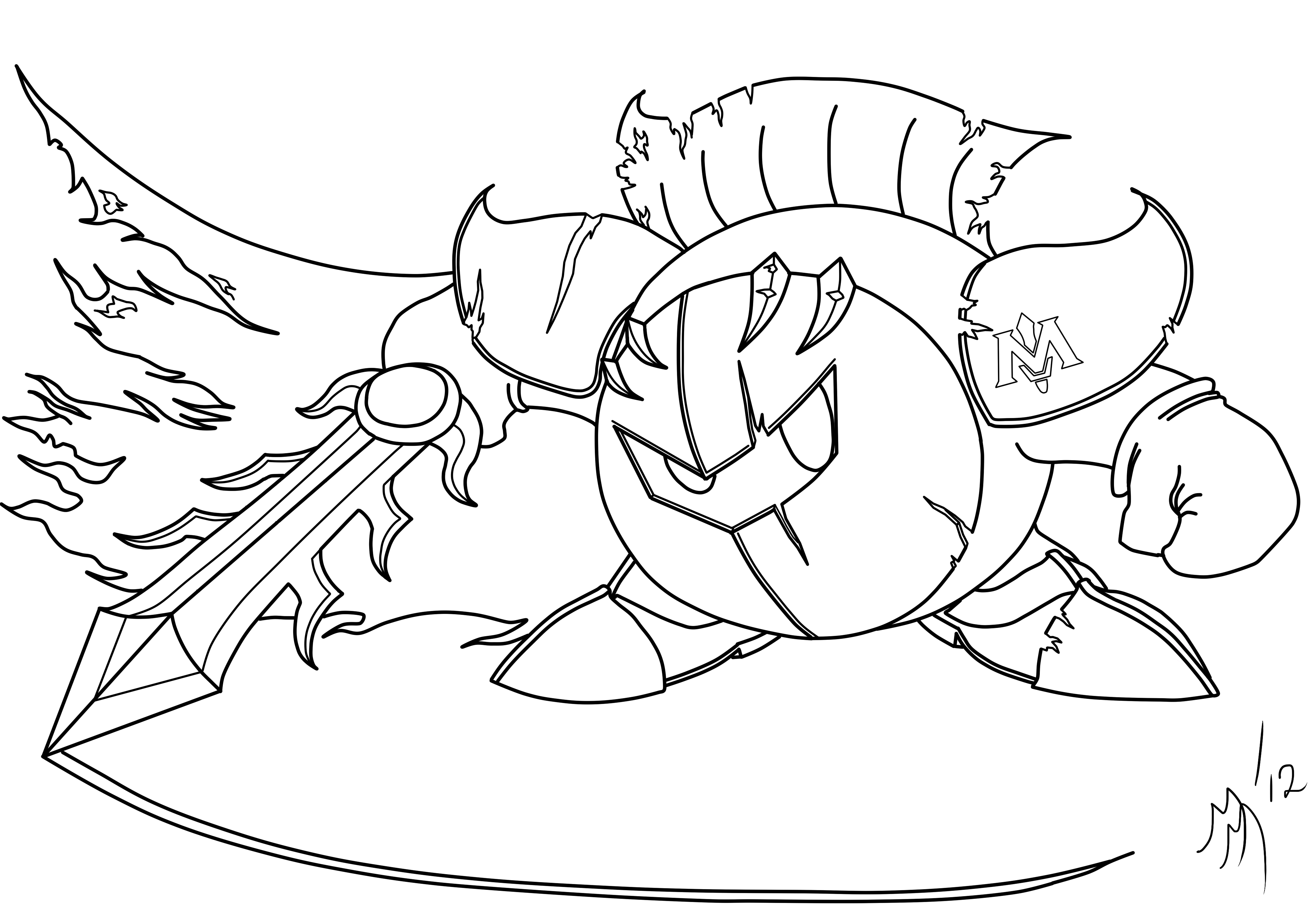 Meta Knight Lines By Eighties Matt On DeviantArt