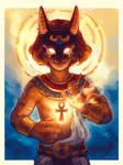 Anubis - Arcane Idol OC