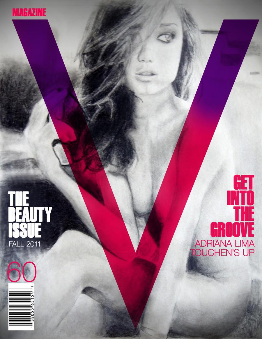 Adriana Lima V Magazine by