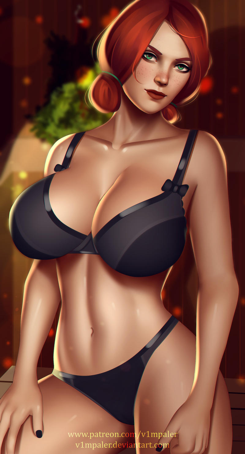 Mercy Full Nude Available by v1mpaler on DeviantArt