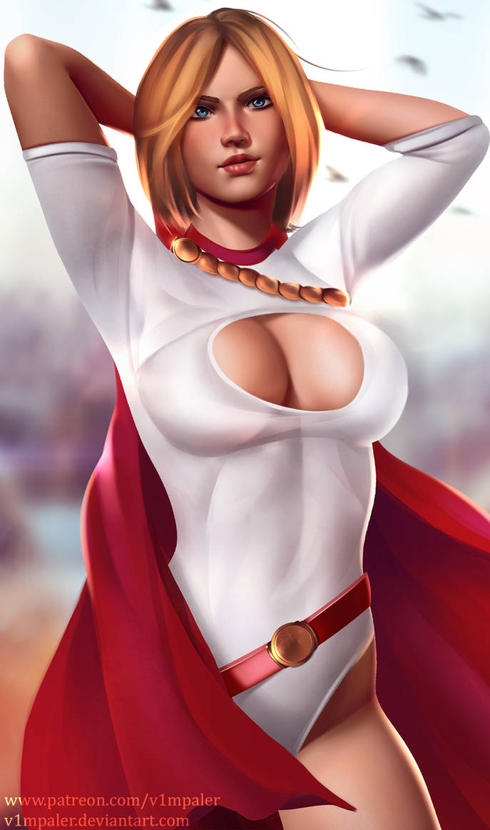 Power Girl Full Nude Available By V1Mpaler On Deviantart-1113