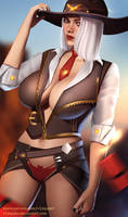 Overwatch Ashe Full Nude Available