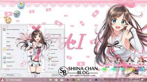 Windows Theme Kizuna AI