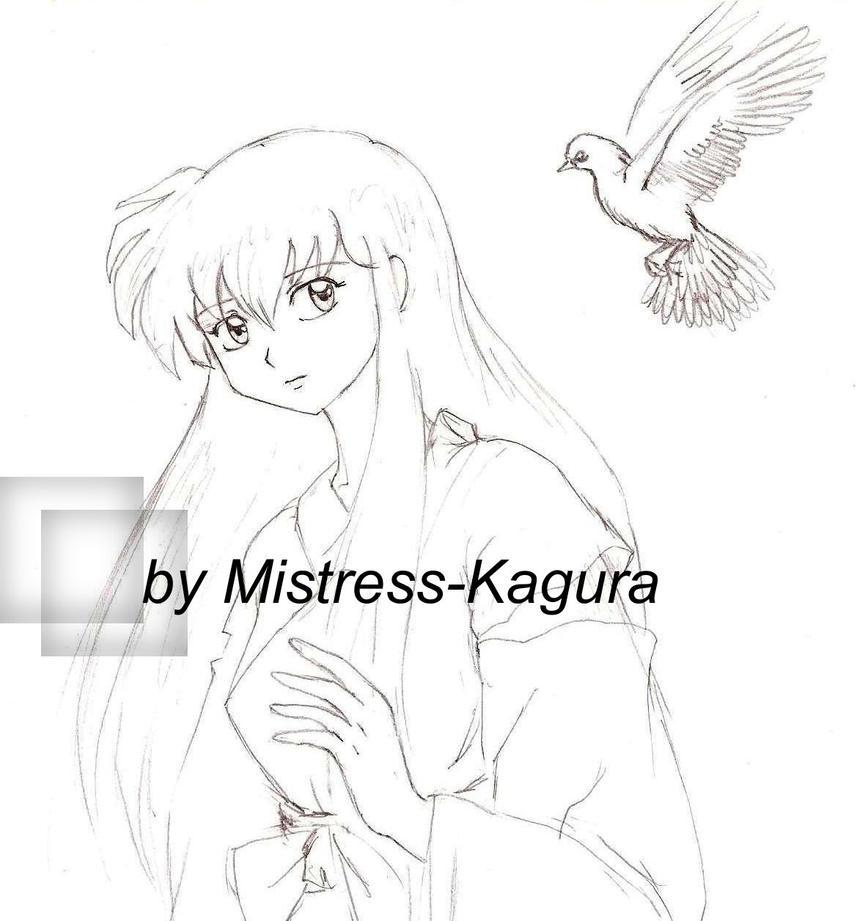 Priestess Kagome by Mistress-Kagura
