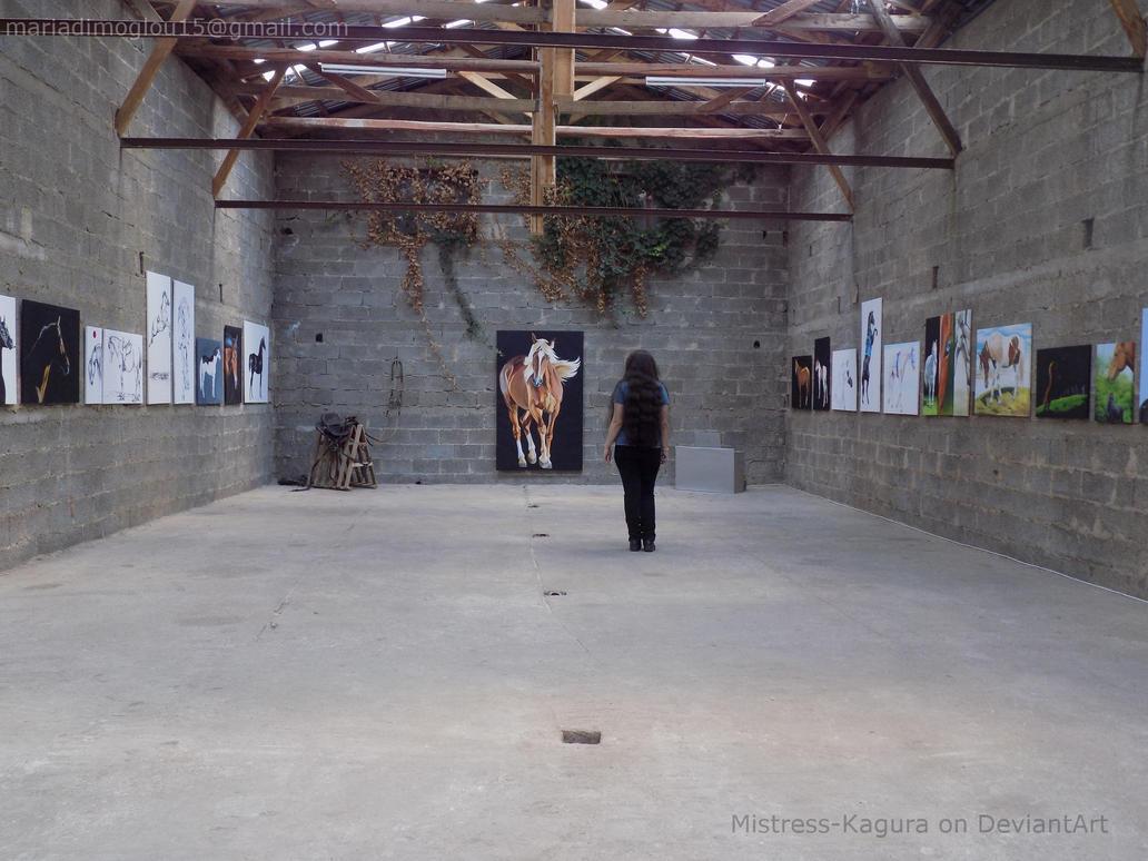 Horses everywhere by Mistress-Kagura