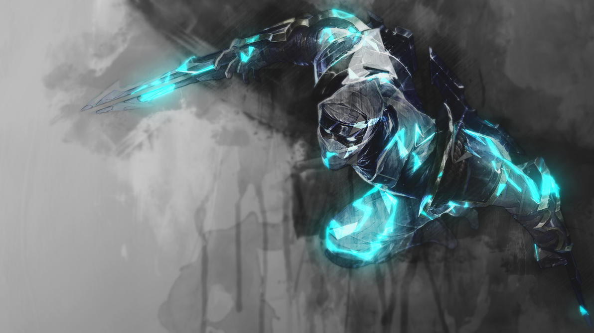 Shockblade Zed - Wallpaper by RaycoreTheCrawler on DeviantArt