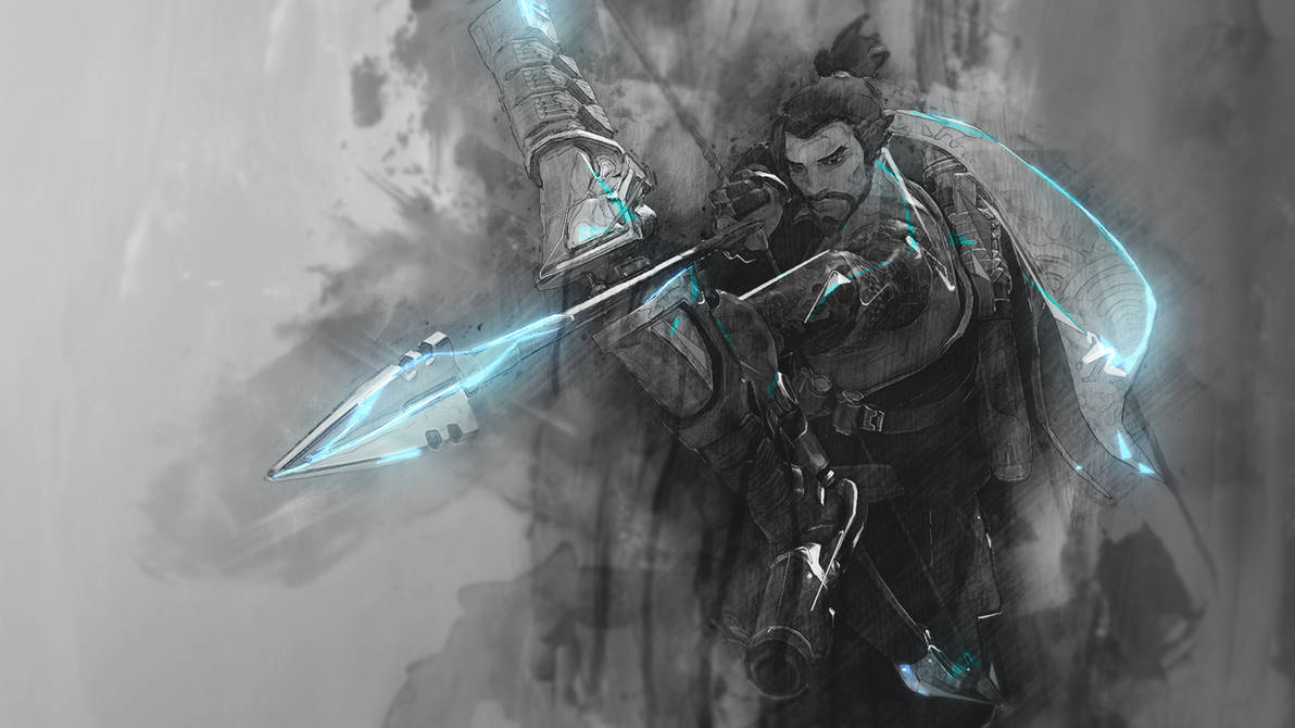 Hanzo - Overwatch Wallpaper by RaycoreTheCrawler ...