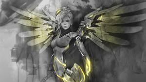 Mercy - Overwatch Wallpaper