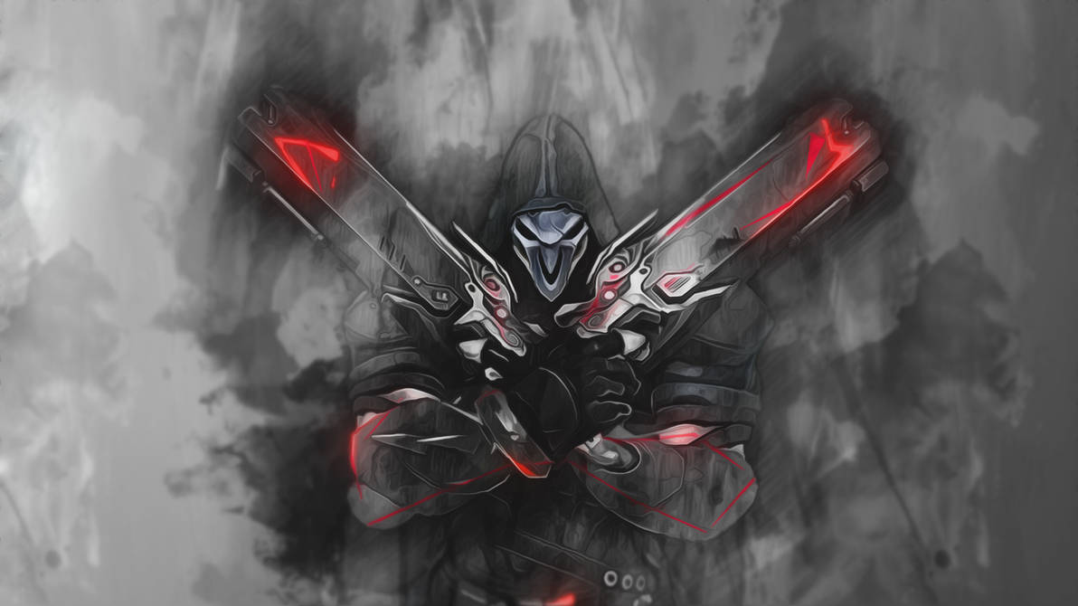Reaper - Overwatch Wallpaper by RaycoreTheCrawler ...