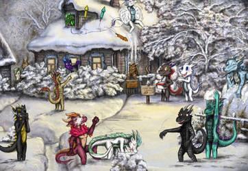 Winter Activities as usual... by Ashravan