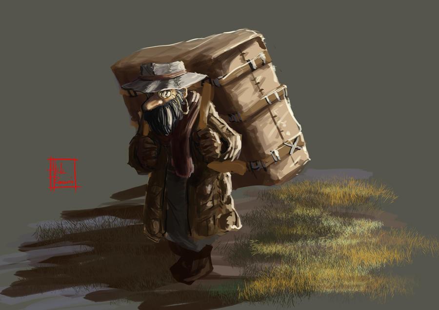 Day 12 : NPC Merchant by rayhyuuga