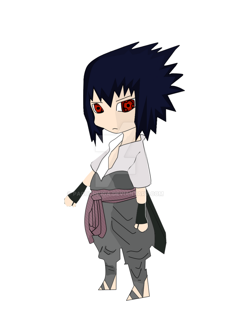 Sasuke chibi by PaoUchiuga on DeviantArt