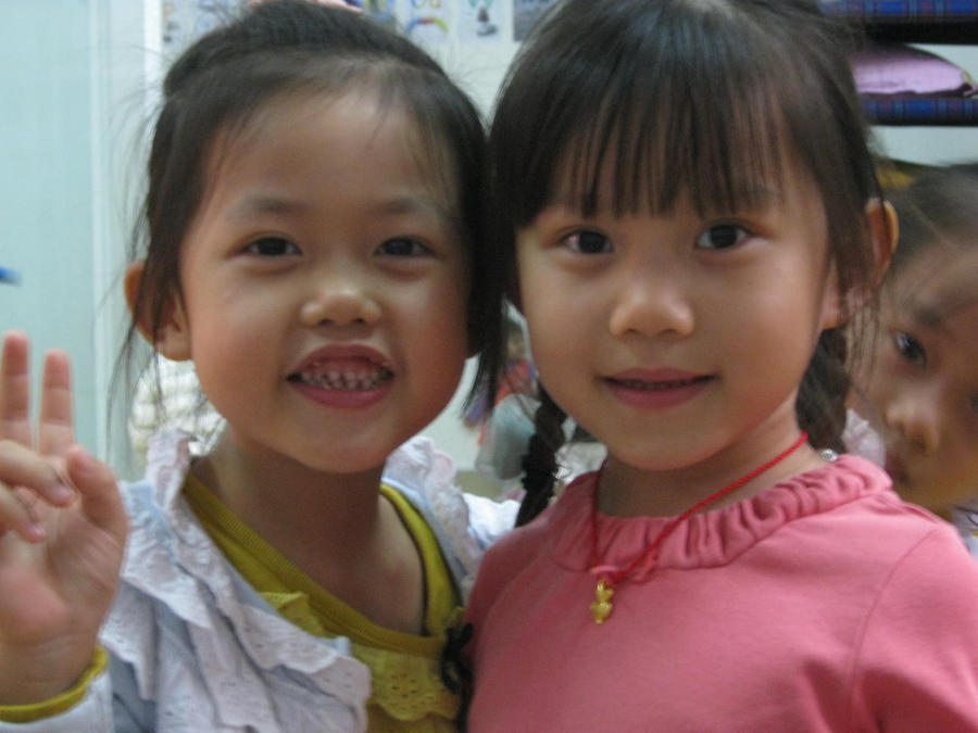 cute kids from china by jbeverlygreene
