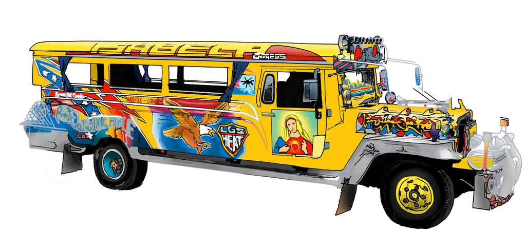 Images Of Jeepney Side View Clipart Rock Cafe