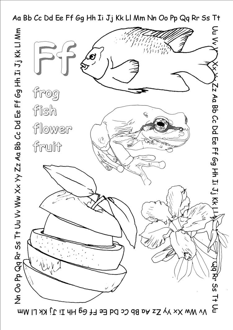 alphabet coloring pages ff copy by jbeverlygreene on