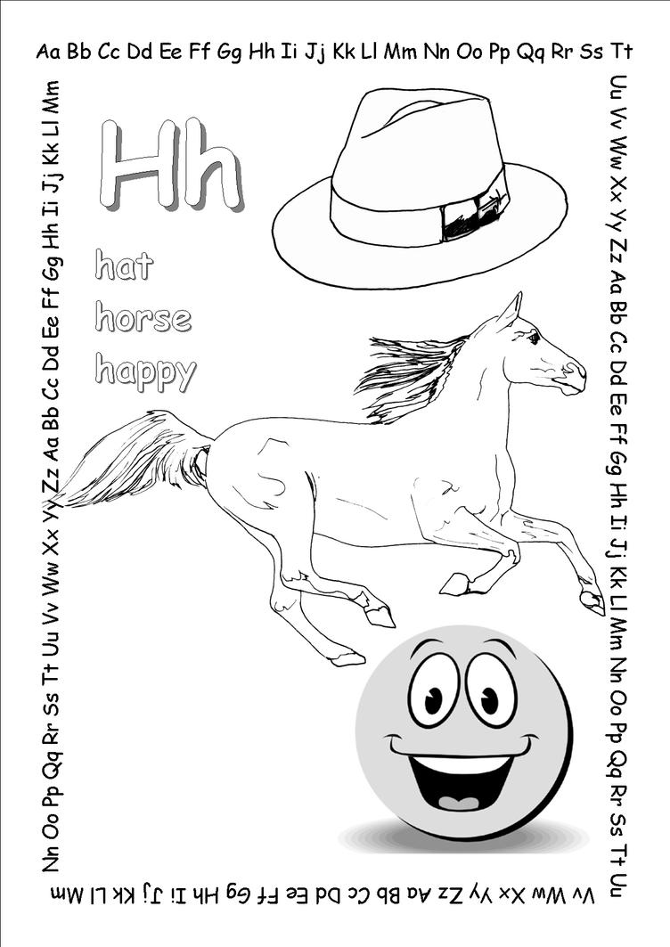 alphabet coloring pages hh copy by jbeverlygreene on deviantart