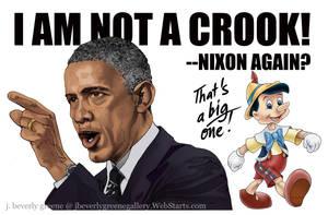 I Am Not A Crook B by jbeverlygreene