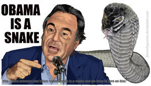 Obama Is A Snake Copy by jbeverlygreene