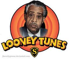 Al Sharpton Looney Tunes Copy by jbeverlygreene