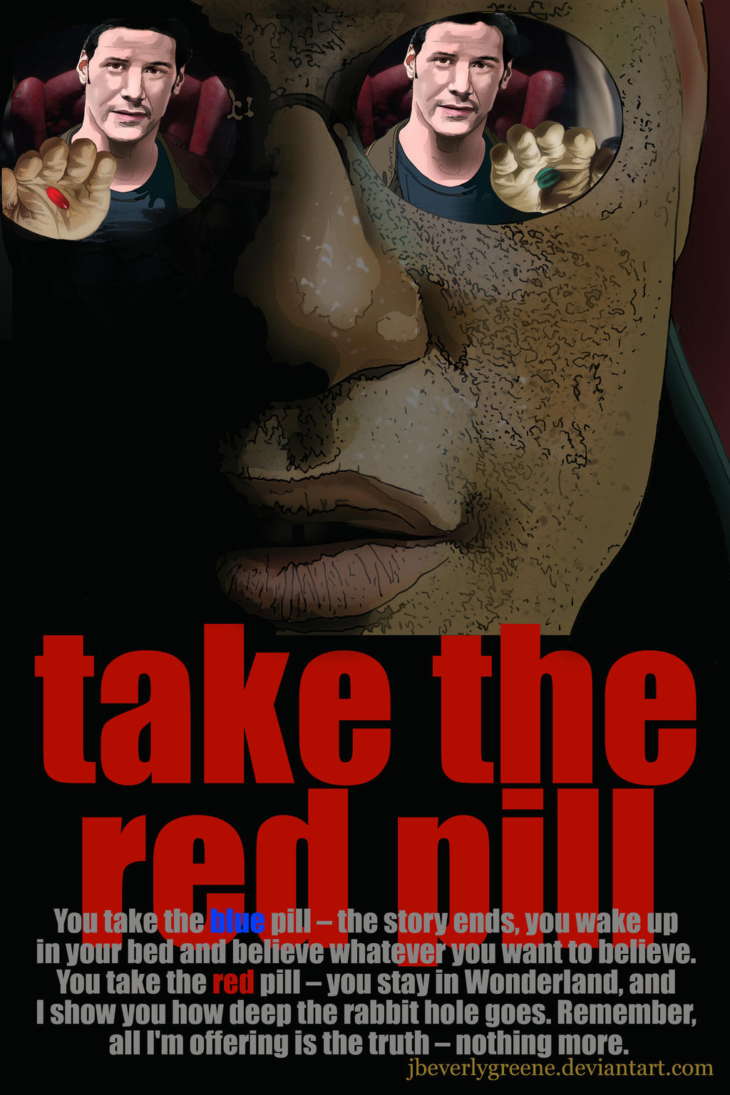 Take The Red Pill Final Copy by jbeverlygreene