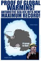 Antarctic Sea Ice Hits New Maximum Record by jbeverlygreene