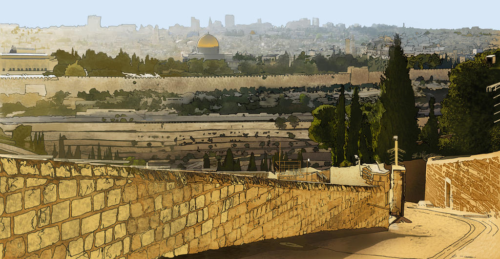 Jerusalem Showdown Copy Copy by jbeverlygreene