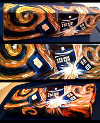 Dr Who's Exploding Tardis