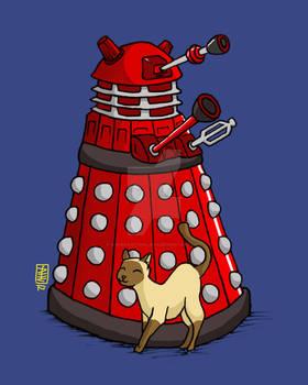 Toki charms a Dalek