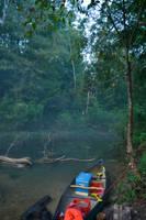 Canoe Parking by Sizzla25