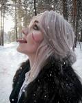 Ciri and snow