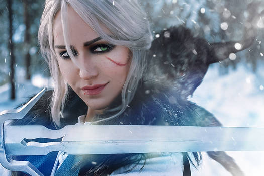 Ciri. The Skellige. Cosplay