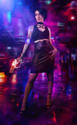 Fringilla Cyberpunk 2077 by Akarana
