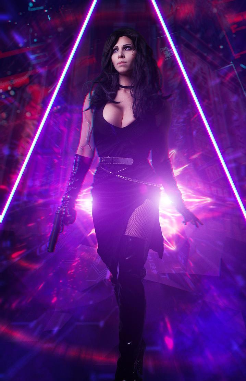 Yennefer Cyberpunk 2077 by Akarana