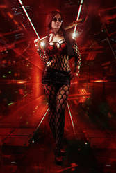 Philippa The Witcher 3 Cyberpunk by Akarana