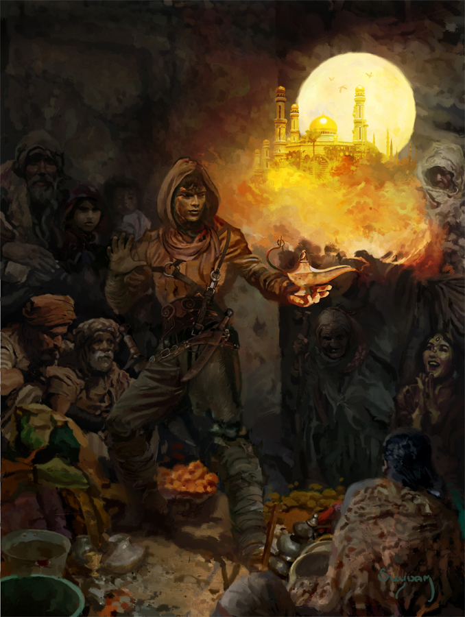 Suydam Aladdin 1 by DeevElliott