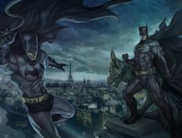 Batman Detective ARTGERM by DeevElliott