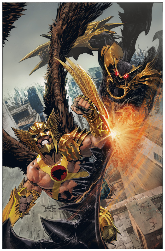 Savage Hawkman 3 by DeevElliott