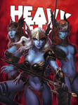 HEAVY METAL September Cover - KUNKKA