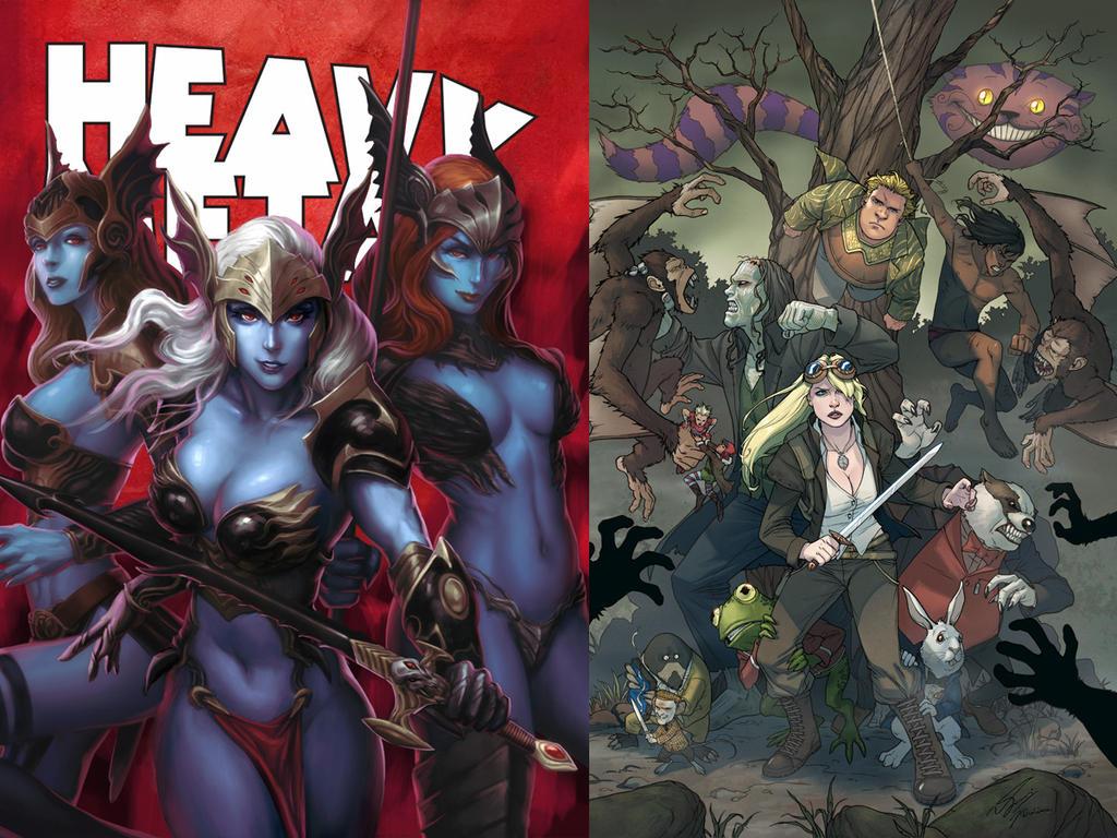 Heavy Metal DeevElliott Special By