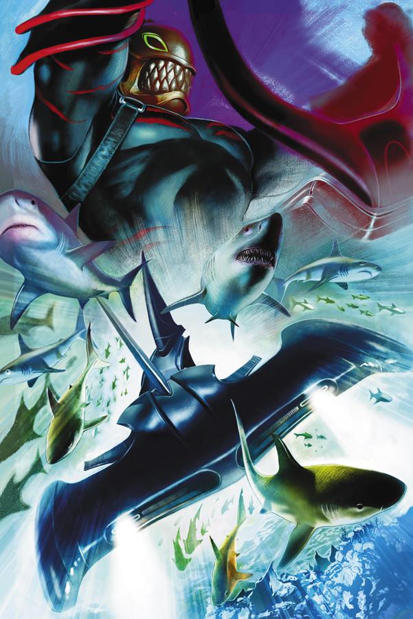Sharkman art - photo#21