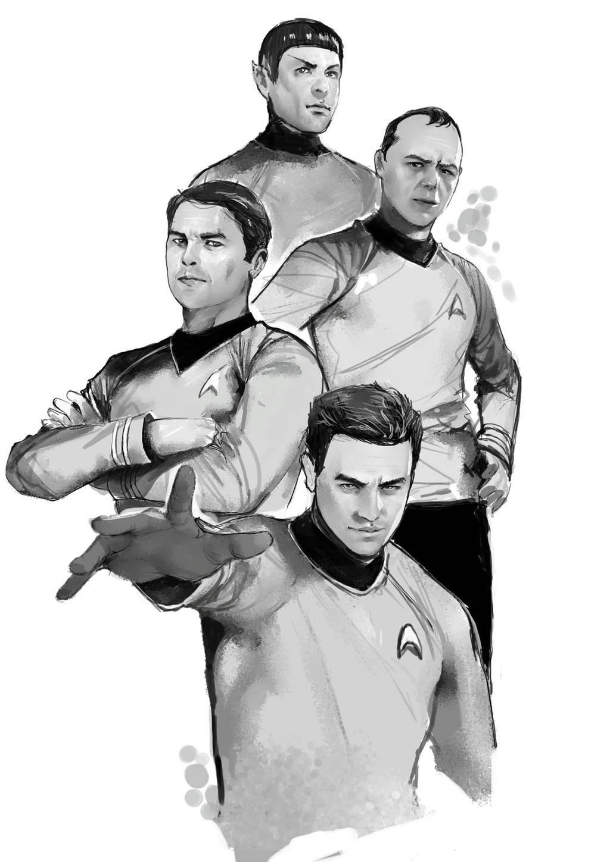 STAR TREK by ERFAN FAJAR of Stellar-Labs