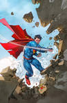 SUPERMAN cover 13 colored by SUNNY GHO
