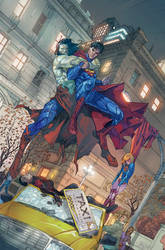 SUPERMAN Cover 14 colored by SUNNY GHO
