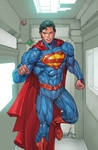 SUPERMAN 15 Cov SUPES colored by SUNNY GHO