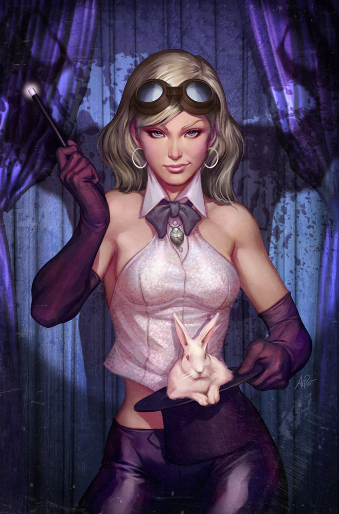 WEIRDING WILLOWS - A1 cover issue 1 by ARTGERM by DeevElliott
