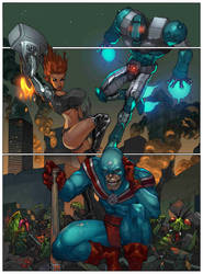 MAXIMUM FORCE pg 1 by Firmansyah and Mashuri by DeevElliott