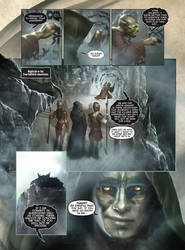 FENRIS: Wolf-God page 01 by DAVE WILKINS by DeevElliott